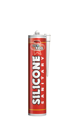 Sanitary acetoxy silicone sealant plumbing white 230ml ECO-100